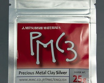 PMC3 - Precious Metal Clay 3 (25g pkg)  (PMC3-25)