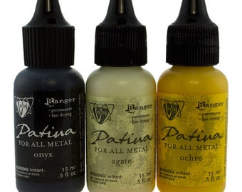 Vintaj Patina Ink Set - 3 Colors - Retro Highway  (PM4104)