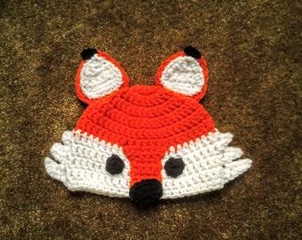 Crochet Fox Hat / Animal Hat