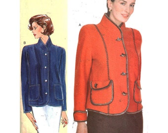 Vogue Sewing Pattern 7183 Misses'/Misses' Petite Jacket  Size:  A-B-C  32-34-36  Used