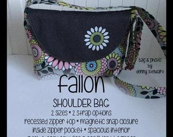 SALE!! Fallon Shoulder Bag ~ PDF Pattern