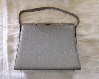 SALE*** Vintage Grey Andrew Geller Handbag
