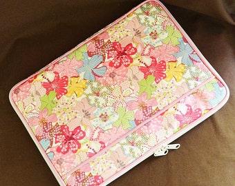 11/13 inch Laptop Case Bag :  LIBERTY Mauvey (Pink)