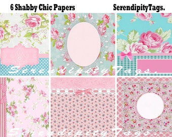 Lovely Shabby Chic Papers (6)