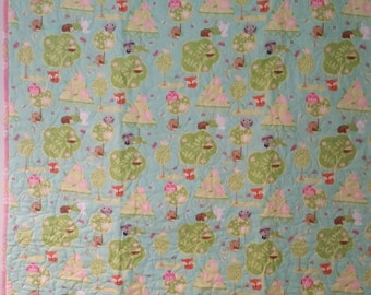 Whole Cloth Baby Quilt  FREE SHIPPING!!!