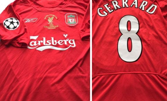 Liverpool fc Shirt Liverpool fc Jersey 2005