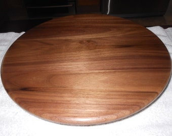 Walnut Wood Lazy Susan Turntable 16""