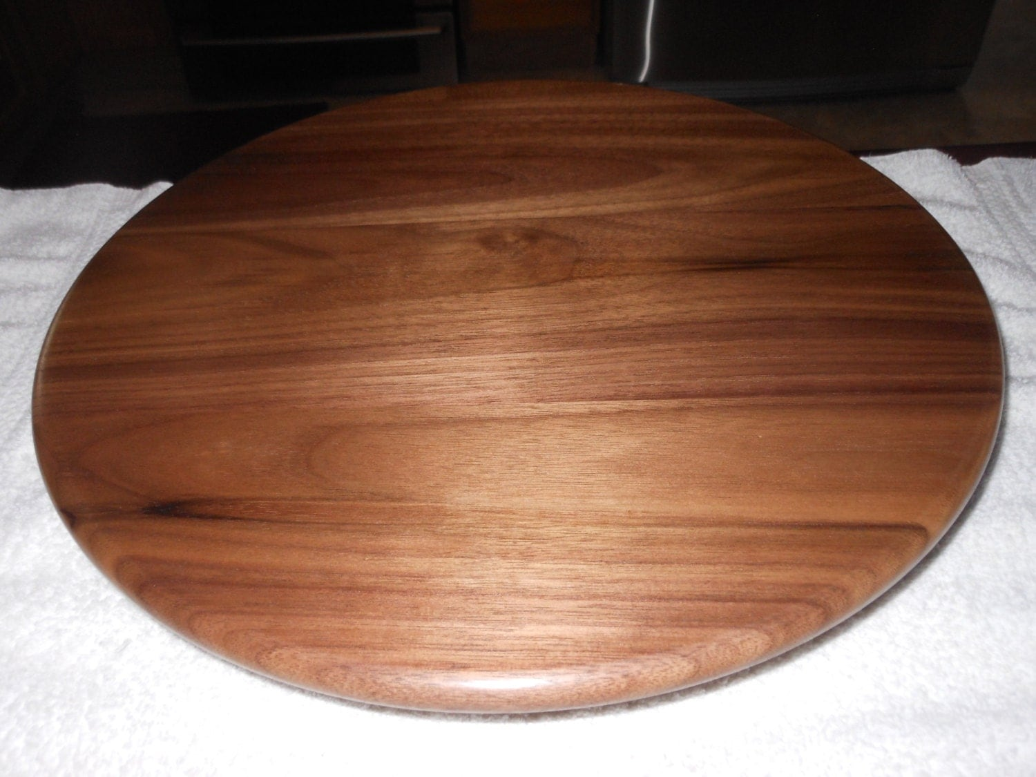 how to make a lazy susan out of wood