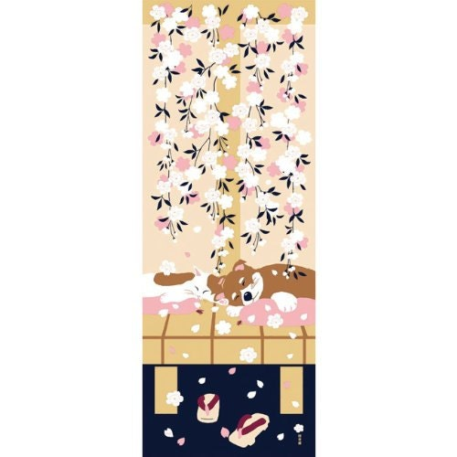 Cat And Dog Wall Cloth Picture Made In Itlay