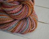 Gypsy Hand Spun Hand Dyed 3 Navajo Ply Yarn Cormo Wool