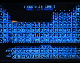 Periodic Table of Elements - Acrylic DesignScapes