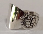 Sterling Silver Salt Spoon Ring