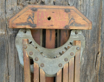 Antique Favorite drying rack / wood / rustic laundry drying rack