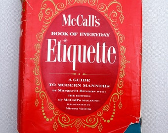 McCall's Book Of Everyday Etiquette 1960