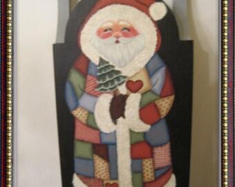 Patchwork  Santa sled.