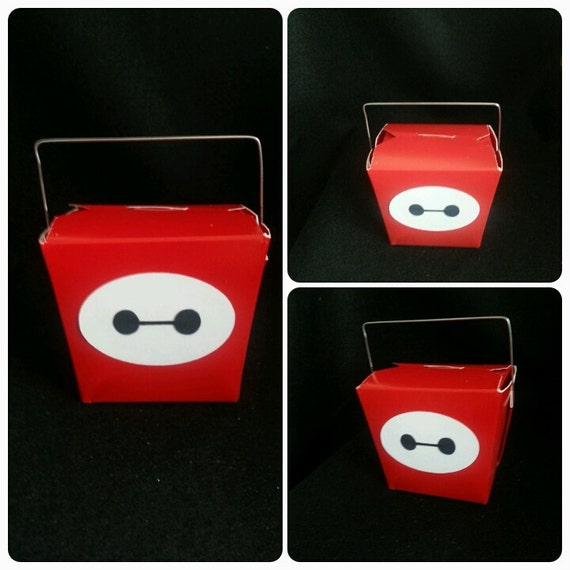 Party Favor Chinese Take Out Boxes : Big hero inspired chinese take out boxes party favor