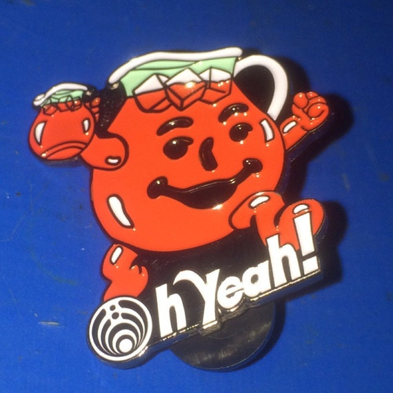 Bassnectar Oh Yeah kool aid Hatpin by iLLiNTENTiONS on Etsy Ohh Yeah Kool Aid