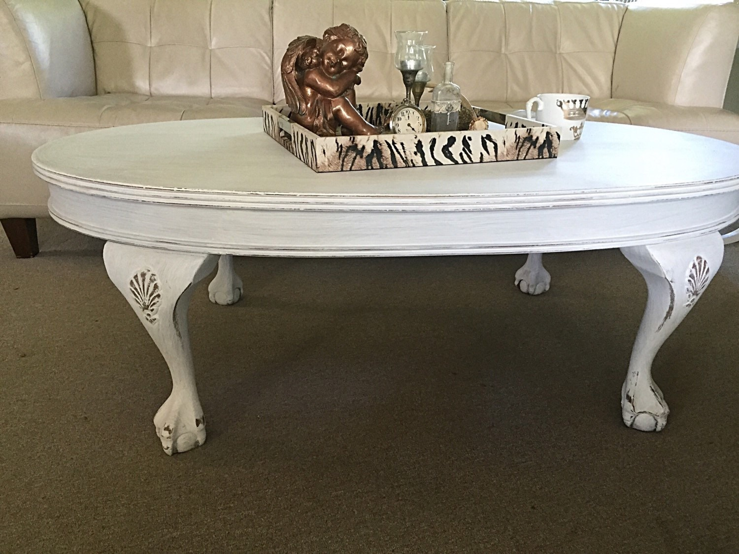 Hold White Shabby Chic Coffee Table Vintage By Farmhousefare