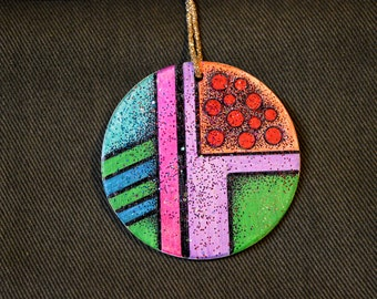 Abstract Christmas Ornament