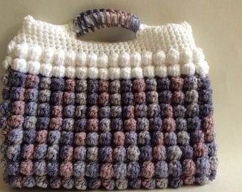Crochet Bobble Clutch