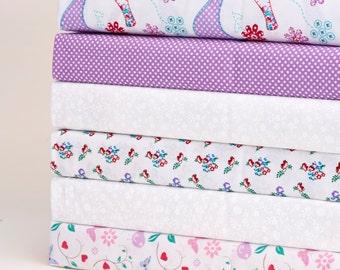 Fabric Fat Quarter Bundle Dove