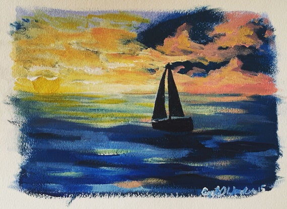 "ORIGINAL ART - ""The Rise"""