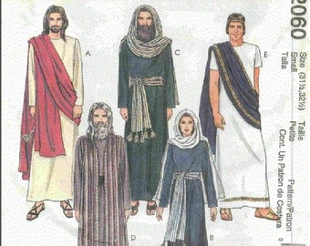 McCall's Costumes 2060 The Passion Play Sizes  X Small thru X-Large