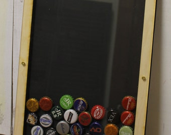 Bottle Cap Holder/Bottle Cap Display/Beer Decor/Bar Decor/Father's Day/Man Gift/Fast Shipping/Bottle Cap Collector/Cap Display