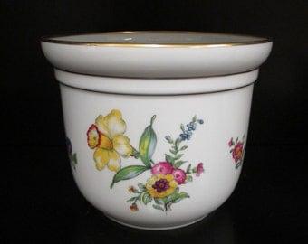 Vase; Center Piece, Planter, Copenhagen Porcelain, Danish Modern, Danish Porcelain, Denmark Porcelain, Bing & Grondahl, 1970-1983
