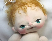 Blair a One of a Kind Soft Sculpture Baby Doll by BeBe Babies