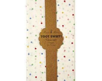Spotty TABLECLOTH (pois)