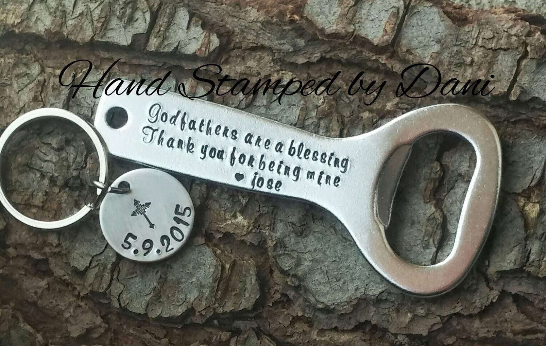 god father keychain bottle opener. Black Bedroom Furniture Sets. Home Design Ideas