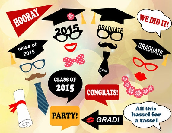 ... Props Graduation Photobooth Printable Graduation Party Props 0167