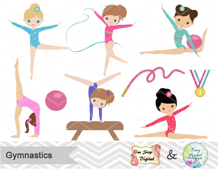 Kids Gymnastic Birthday Party Ideas Sweet Gymnastics Girl Cake