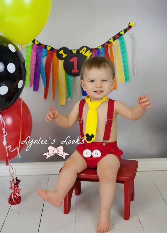 mickey mouse smash cake outfit mickey mouse cake smash mickey mouse by lynleeslooks 5889