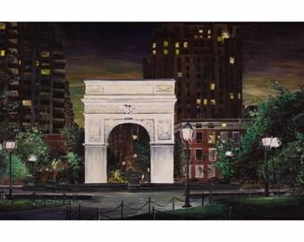 Washington Square Park, New York City Art Print