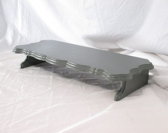 Elegant Monitor Stand, Long ~ Painted