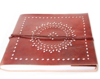 Wedding Photo Album Large Leather Photo Album Leather Scrapbook album wedding photo book, Wedding Guest Book with cut work