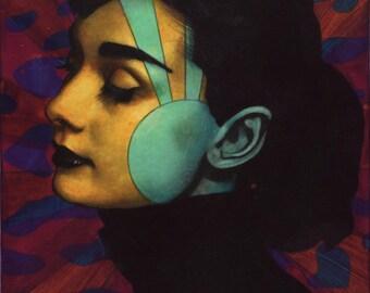 Audrey Hepburn: Tokyo Series 8x10 print