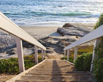 Stairway To Heaven, Stairs, Ocean, Windansea Beach, La Jolla, California