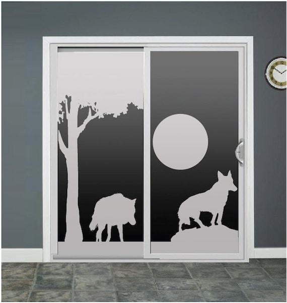 Wolf Dog Glass Door Decals Sliding Door Decal Door By
