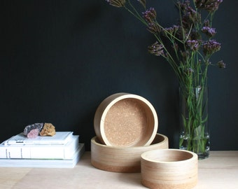 Korkur Bowl | Birch Plywood and Cork bowl