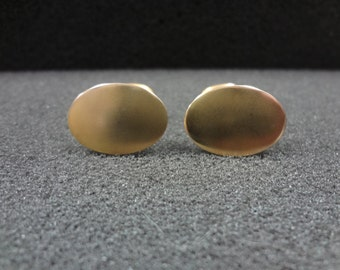 Vintage Cuff links in Gold Tone Finish
