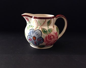 Blue Ridge Anne Pattern Antique Shaped Pitcher
