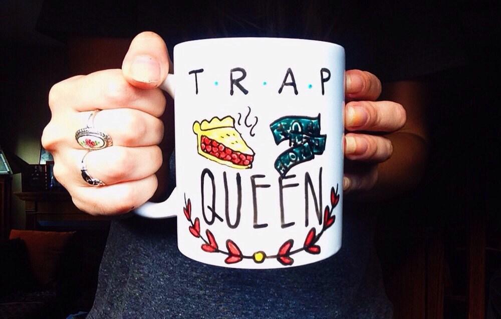 Trap Queen Mug Fetty Wap Coffee Mug Birthday gift Christmas