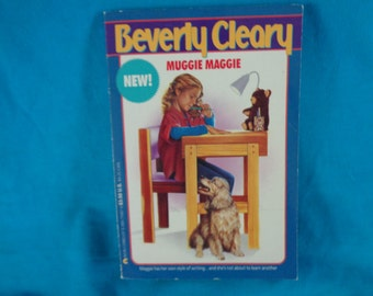 Vintage 1991 Muggie Maggie book by Beverly Cleary