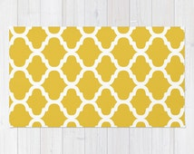 Popular Items For Yellow Rug On Etsy