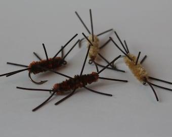Fly Fishing Flies - Big Uglies 4 pack