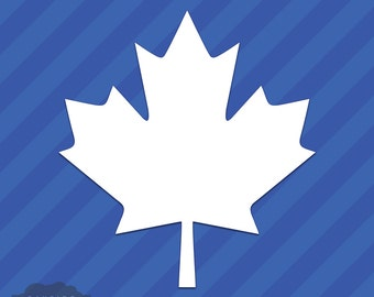 Canadian Maple Leaf Vinyl Decal Sticker Canada