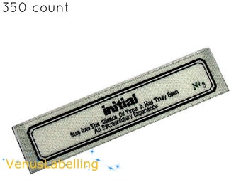 Nametag, custom clothing labels, designer labels, clothes labels, printing company, text design,free ship by express post, 350 count.